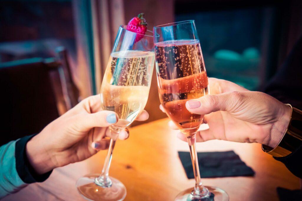 Schuimwijn bubbels cava prosecco sekt champagne alcoholvrij feest event receptie beurs wit rosé rose