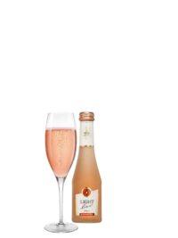 schuimwijn rosé rose cava champagne sekt prosecco alcoholvrij zonder alcohol fles glas klein 20cl caloriearm weinig zonder calorieën 20cl horeca