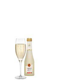 schuimwijn wit cava champagne sekt prosecco alcoholvrij zonder alcohol fles glas klein 20cl caloriearm weinig zonder calorieën 20cl horeca
