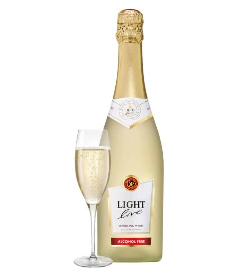 schuimwijn wit cava champagne sekt prosecco alcoholvrij zonder alcohol fles glas klein 20cl caloriearm weinig zonder calorieën 75cl
