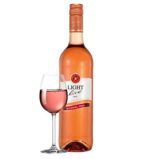 rose rosé wijn alcoholvrije wijnen 0%