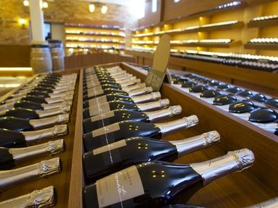 alcoholvrij wijn winkel rek schap assortiment gamma