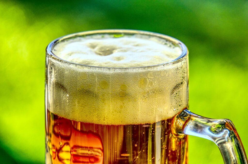 bier alcoholvrij bob schuim