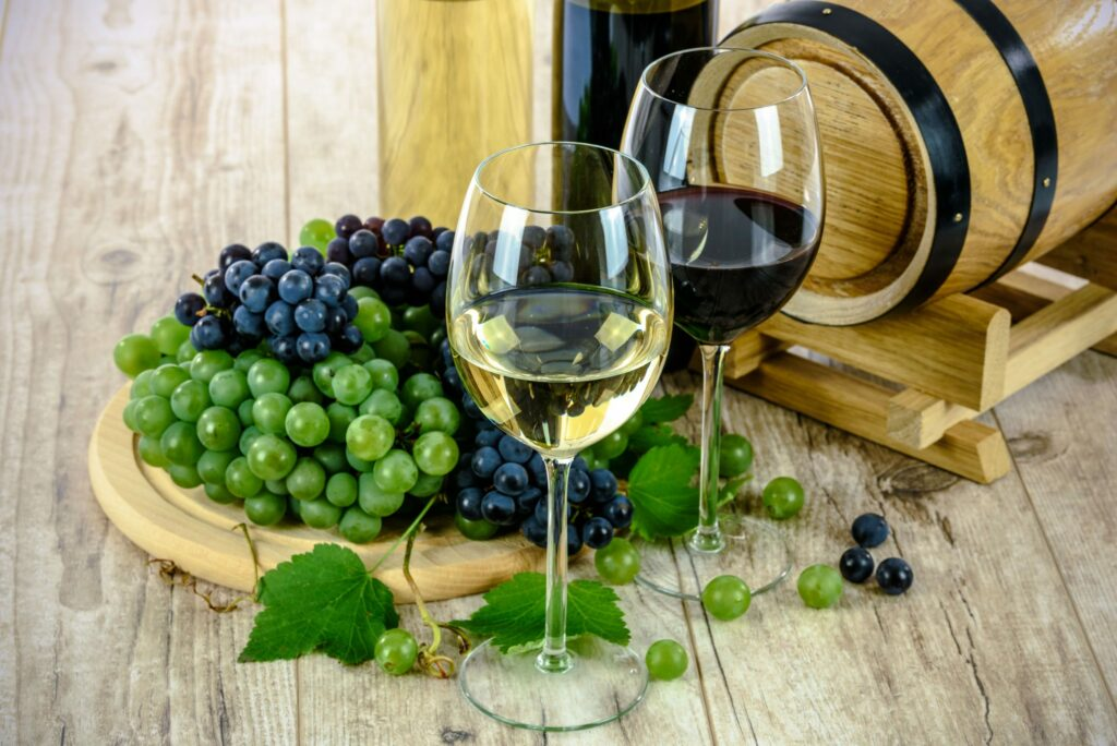 wijnen wit rood rosé rose alcoholvrij
